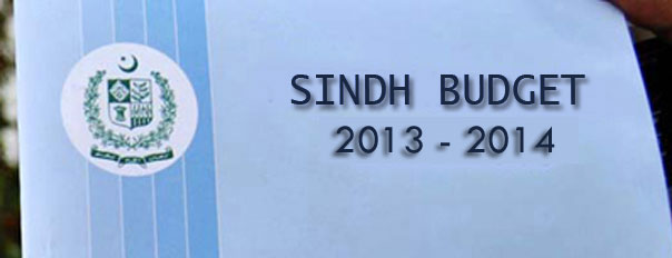 Summary of Sindh Government Budget 2013-14